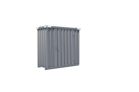 BOS Quick-Build Container 1x2m Single door on end