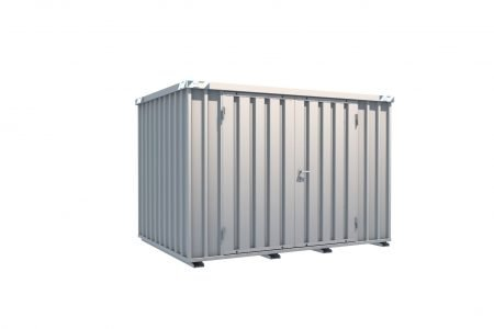 BOS Quick-Build Container 3x2m Double door on side