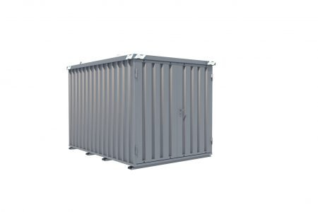 BOS Quick-Build Container 3x2m Double door on end