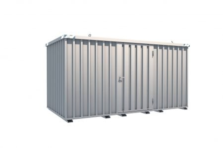 BOS Quick-Build Container 4x2m Single door on side