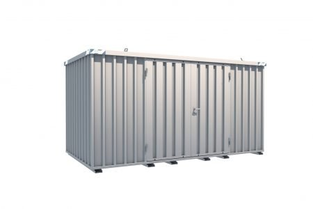 BOS Quick-Build Container 4x2m Double door on side