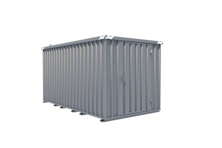 BOS Quick-Build Container 4x2m Single door on end