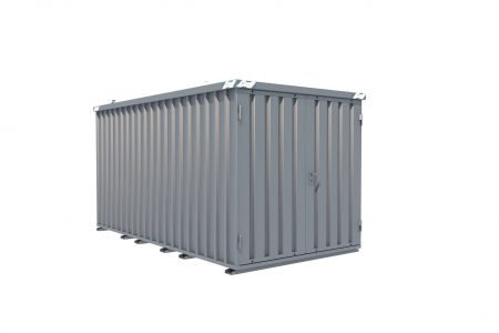 BOS Quick-Build Container 4x2m Double door on end