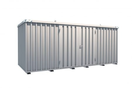 BOS Quick-Build Container 5x2m Double door on side