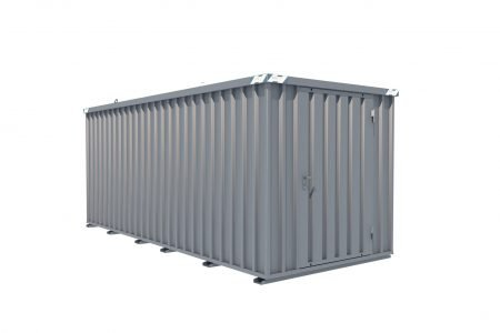BOS Quick-Build Container 6x2m Single door on end