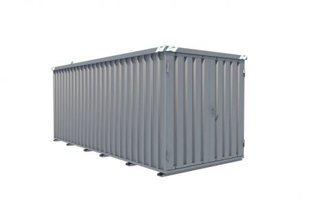 BOS Quick-Build Container 5x2m Double door on end