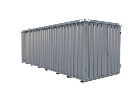 BOS Quick-Build Container 6x2m Double door on end